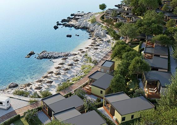 Camping jezevac krk istria croazia campeggi for Lungomare elevato