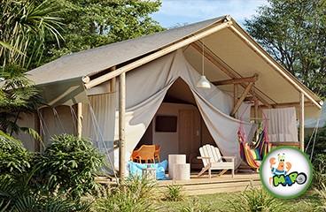 Maro Premium Gl&ing tent & Glamping in Camping Lanterna | Camping Adriatic