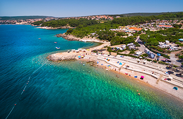 Koversada (Croatia) - The largest ex-Yugoslav nudist resort