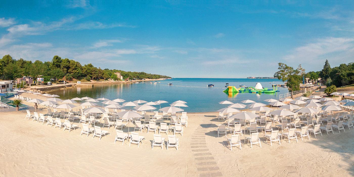 Camping met waterpark in Istrië - Camping Lanterna